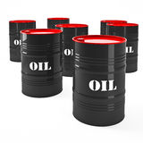 Oil barell Royalty Free Stock Image