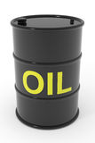 Oil barrel. Royalty Free Stock Images