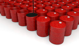 Oil Barrel. Power, energy and fuel industry image: oil barrel vector illustration