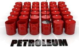 Oil Barrel Royalty Free Stock Photos