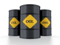 Oil barrel Royalty Free Stock Photography