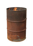 Oil barrel Royalty Free Stock Image