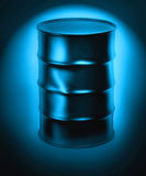Oil barrel 3d Royalty Free Stock Images