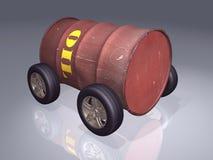 Oil barrel 3d Stock Photo