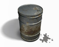 Oil barrel Royalty Free Stock Photos