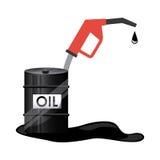 Oil barrel icon Royalty Free Stock Photos