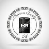 Oil barrel icon Stock Photos