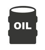 Oil barrel isolated icon design. Illustration graphic royalty free illustration
