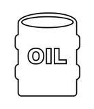 Oil barrel isolated icon design. Illustration graphic vector illustration