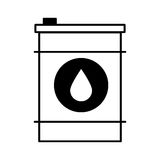 Oil barrel isolated icon. Vector illustration design vector illustration