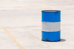 Oil barrel tank Royalty Free Stock Image