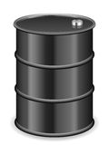 Oil barrel Royalty Free Stock Photo