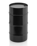 Oil barrel  on white background Royalty Free Stock Photo