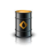 Oil barrel vector illustration