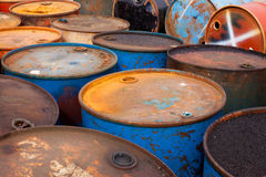 Free Oil Barrels Royalty Free Stock Photos - 16197658