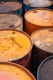 Oil barrels Stock Photos