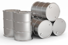 Oil barrels. Stock Image