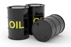 Oil barrels. Stock Photos