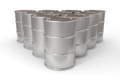 Oil barrels. Royalty Free Stock Image