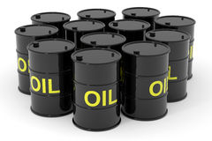 Free Oil Barrels. Stock Photo - 23641500
