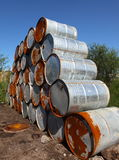 Oil barrels Royalty Free Stock Photography