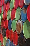 Oil barrels Royalty Free Stock Image