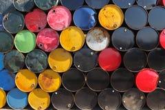 Oil barrels Stock Image