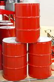 Oil barrels Royalty Free Stock Images