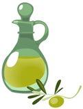 Oil bottle stock illustration