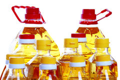 Oil bottle Royalty Free Stock Photo