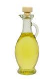 Oil in bottle Stock Image