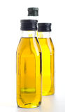 Oil bottles Royalty Free Stock Photo