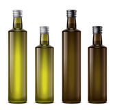 Oil bottles Stock Images