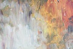 Oil Brush Art Pattern Background Royalty Free Stock Image