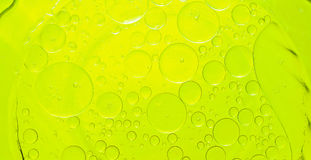 Oil bubbles abstract. Stock Photography