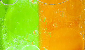 Oil bubbles abtract Royalty Free Stock Photos