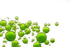 Oil bubbles Stock Image