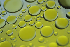 Oil bubbles Stock Photo