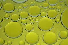 Oil bubbles Stock Photos