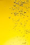 Oil bubbles in water Royalty Free Stock Images