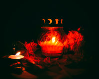 Oil burner Royalty Free Stock Photography