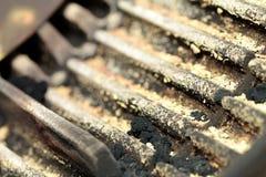 Oil burner nozzle Stock Photo