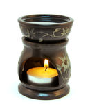 Oil Burner with scented oil isolated Royalty Free Stock Image