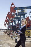 Oil business stock photography