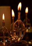 Oil candles Royalty Free Stock Image