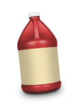 Oil canister isolated Royalty Free Stock Image