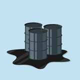 Oil canister Royalty Free Stock Images