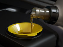 Oil changing Stock Images