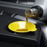 Oil changing Royalty Free Stock Image