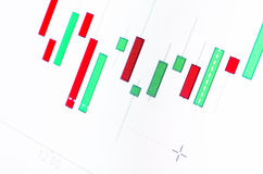 Oil charts royalty free stock photography